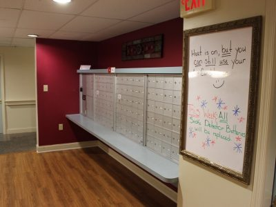 Greenbrier Senior Apartments Mailboxes